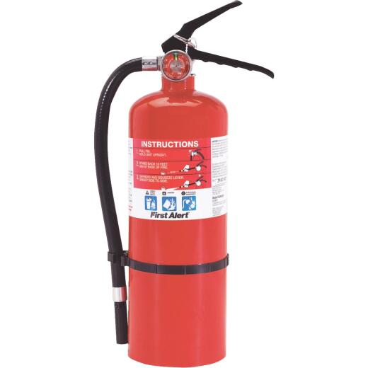 First Alert 3-A:40-B:C Rechargeable Heavy-Duty Commercial Fire Extinguisher