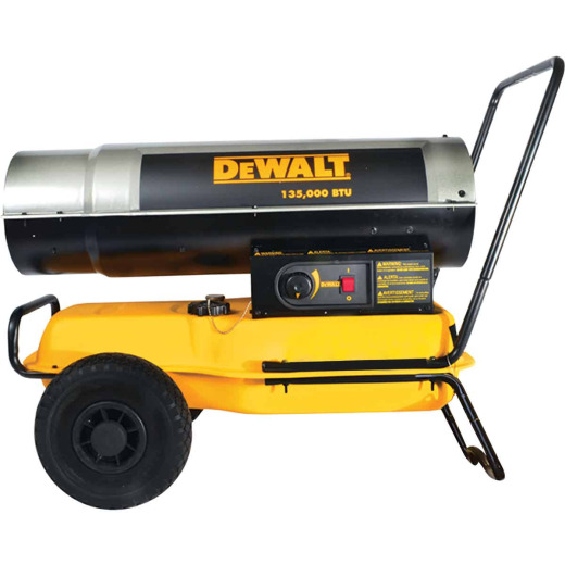 DeWalt 135,000 BTU Kerosene Forced Air Heater