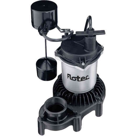 Flotec 1/3 H.P. 115V Submersible Sump Pump with Vertical Switch