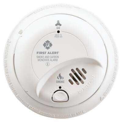 First Alert Hardwired 120V Ionization Carbon Monoxide and Smoke Alarm
