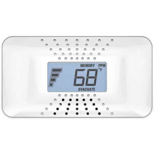 First Alert 10-Year Battery Operated 3V Electrochemical Multi-Function Carbon Monoxide Alarm