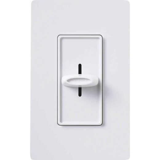 Lutron Skylark White 3-Speed Single-Pole Slide Fan Control Switch