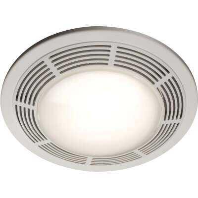Broan 100 CFM 3.5 Sones 120V Bath Exhaust Fan with Light