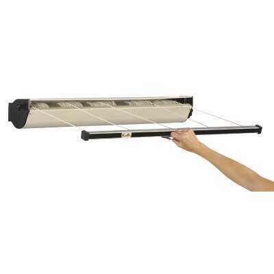 Household Essentials Sunline 34 Ft. 125 Lb. Capacity Aluminum Retractable Clothesline