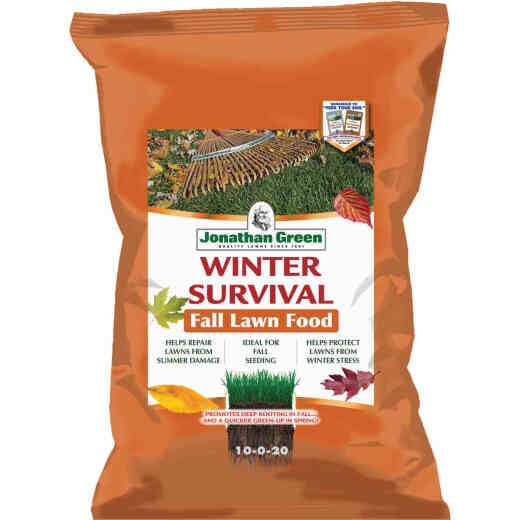 Jonathan Green Winter Survival 45 Lb. 15,000 Sq. Ft. 10-0-20 Winterizer Fall Fertilizer