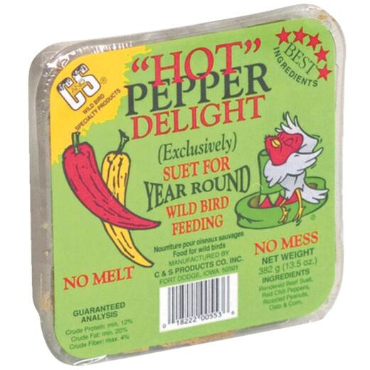 C&S 13.5 Oz. Hot Pepper Delight Suet
