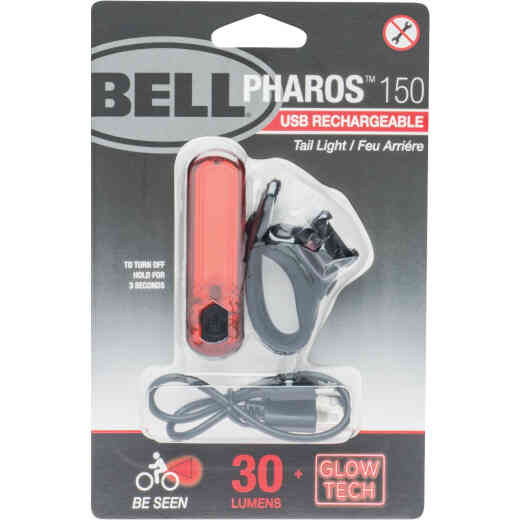 Bell Sports Arella X50 LED Black/Red USB Rechargeable Bicycle Tail Light