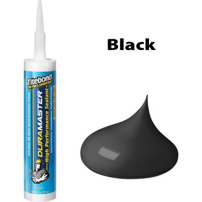 Titebond DuraMaster Sealant 10.1 Oz. Cartridge, Black