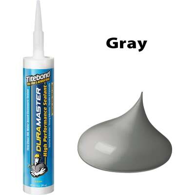 Titebond DuraMaster Sealant 10.1 Oz. Cartridge, Gray