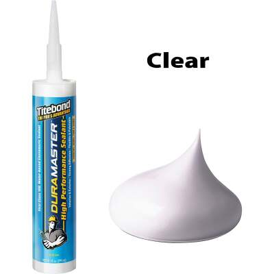 Titebond DuraMaster Sealant 10.1 Oz. Cartridge, Clear
