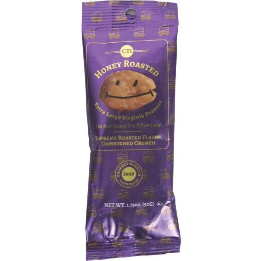 Mr. Smiley 1.75 Oz. Gourmet Honey Roasted Peanuts